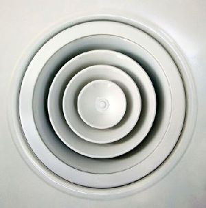 Ceiling Diffuser - Round ( With Adjustable Core )