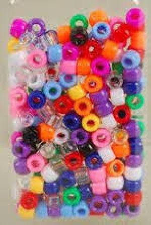 Plastic Hair Beads