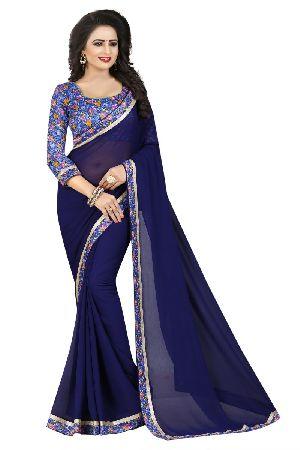 Shakuntala Lace Chiffon Lace Sarees