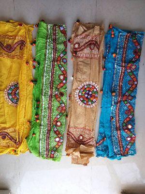 Hand Work Cotton Dupatta