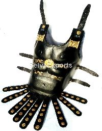 Chest Plate Muscle Armour - Leather Body Armour