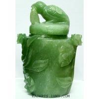 Jade Stone Urn