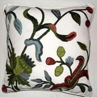 Crewel Cushion Covers