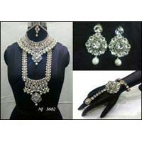 Bridal Jewelry Stone Necklace Set