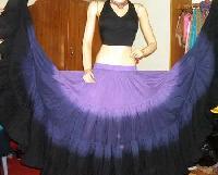 Tie Dye Skirt Top