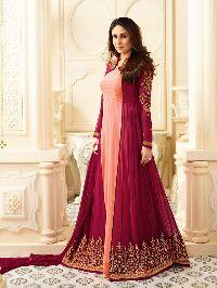 Designer Faux Georgette Latest Anarkali Salwar Suit
