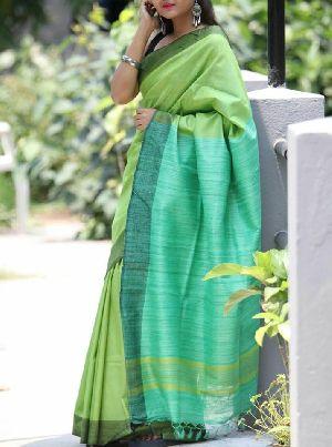 Ghicha Pallu Exclusive Tussar Silk Sarees