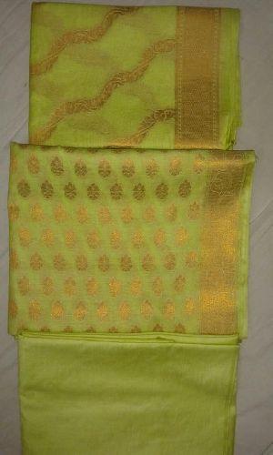 Pure Banarasi Silk Suits, Banarasi Silk Dupatta