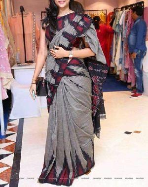 Pure Pochampally Ikat Cotton Sarees