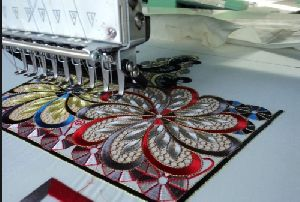 Cording Embroidery Job Work