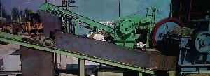 Biomass Bail Breaker Conveyor System