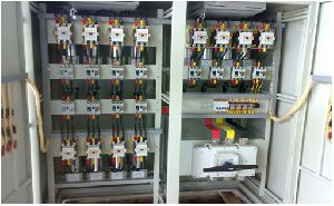 CAPACITOR BANK W/ HARMONIC FILTER AND W/O HARMONIC FILTER