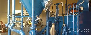 fly cement mixing machine