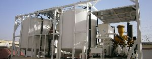 skid mounted cementing batch mixer