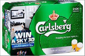 Carlsberg Beer Can 24 x 500ml