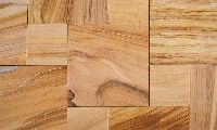 Teak Wood Six Sides Sawn Tiles