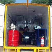 Mobile Lube Van