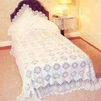 Crochet Lace Bed Cover