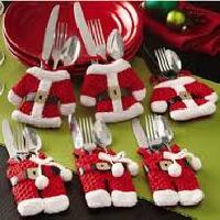 christmas woven kitchen set