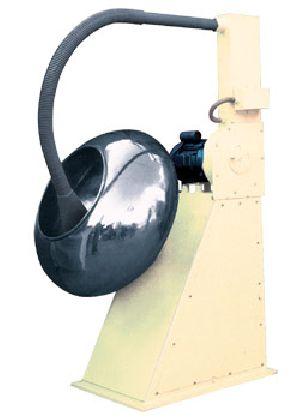Revolving Stainless Steel Coating Pan