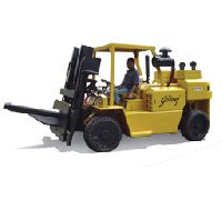 Container Stuffing Heavy Diesel Forklifts truck