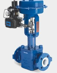 Metal Housed Globe Teflon Valve