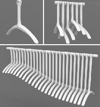 plastic laundry hangers