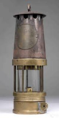 mining safety lamp
