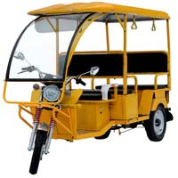 Tumtum Dx Battery Rickshaw