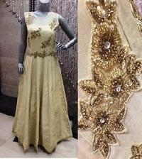 Embroidered Ladies Gown