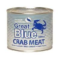 Canned Crab Meat