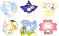 Shaped CD and DVD