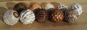 Wooden Decorative Balls