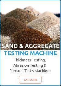 Aggregate Testing Machine
