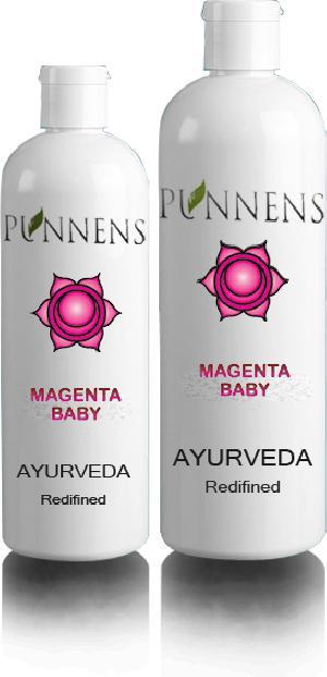Magenta Baby Oil