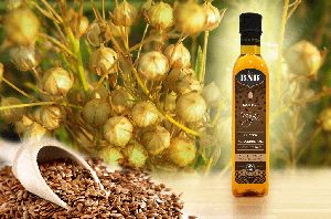 Virgin Flax Seed (linseed) Oil Cold Pressed