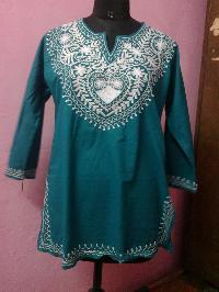 Woolen Embroidery Kurti