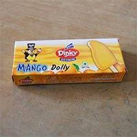 Mango Flavoured Ice Cream