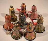 Paper Mache Christmas Bells