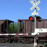 railroad crossing system