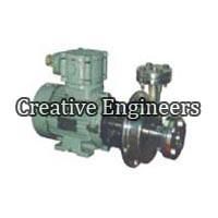 1 Ss Stainless Steel Centrifugal Monoblock Pump with Flame Proof Motor