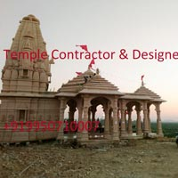 Sandtone Temple Projects Work