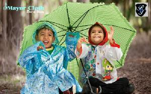 Kids Colorful Rain Coats