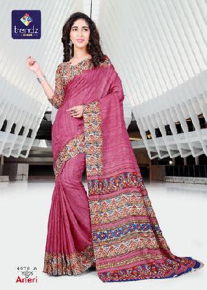Pure Crepe Silk Sarees Online
