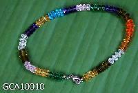 Multicoloured Beaded Anklets : Gca10010