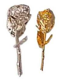 Small Golden & Silver Rose