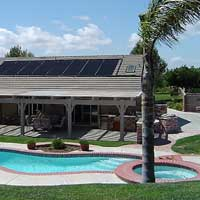 Solar Swimming Pool Heating System