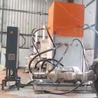 Hydraulic Biomass Briquetting Machine (AX 100-40)