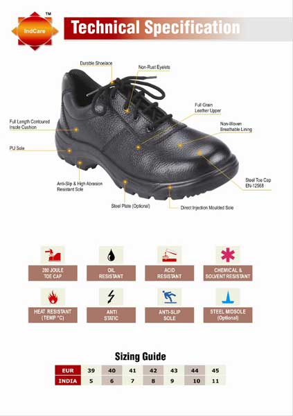 Industrial Safety Shoes Manufacturers Suppliers
