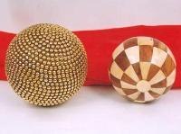 Brass & Wooden Balls